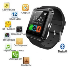 часовник U80 с Bluetooth Андроид Tелефон U80 Smart Watch U80 Android